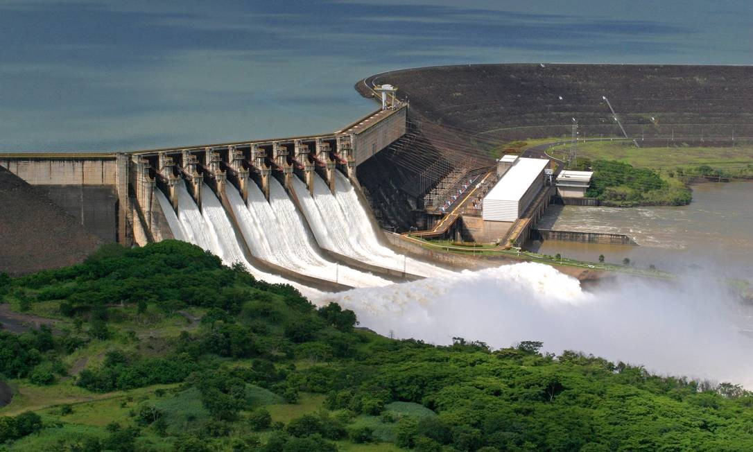 Usina Hidrelétrica de São Simão, da Cemig Foto: Divulgação