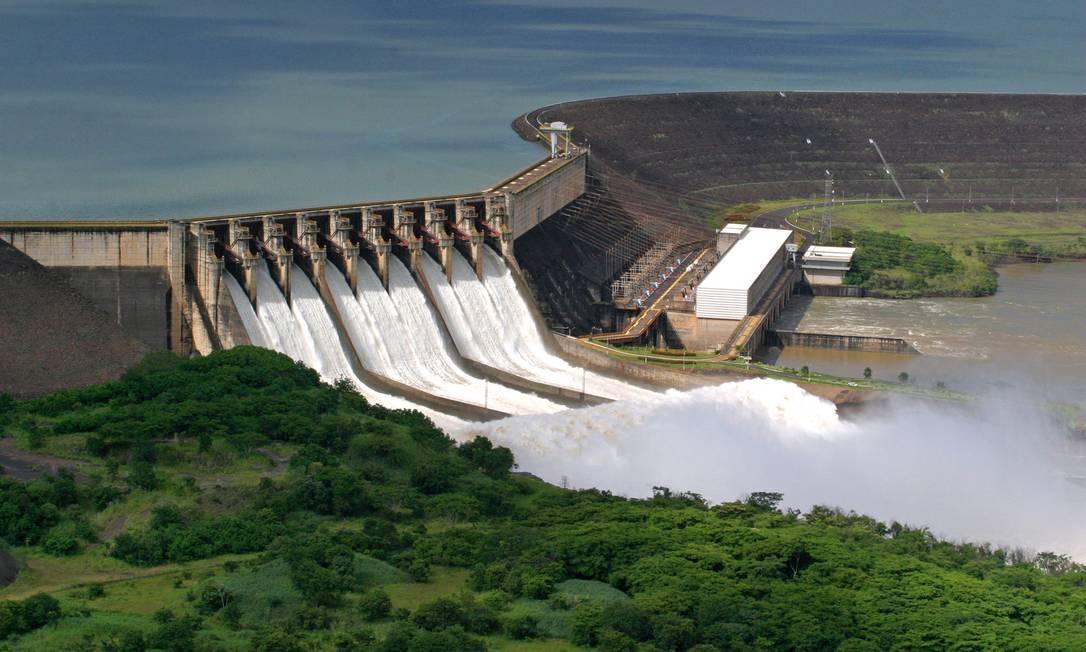 Usina Hidrelétrica de São Simão, da SPIC Brasil Foto: Divulgação