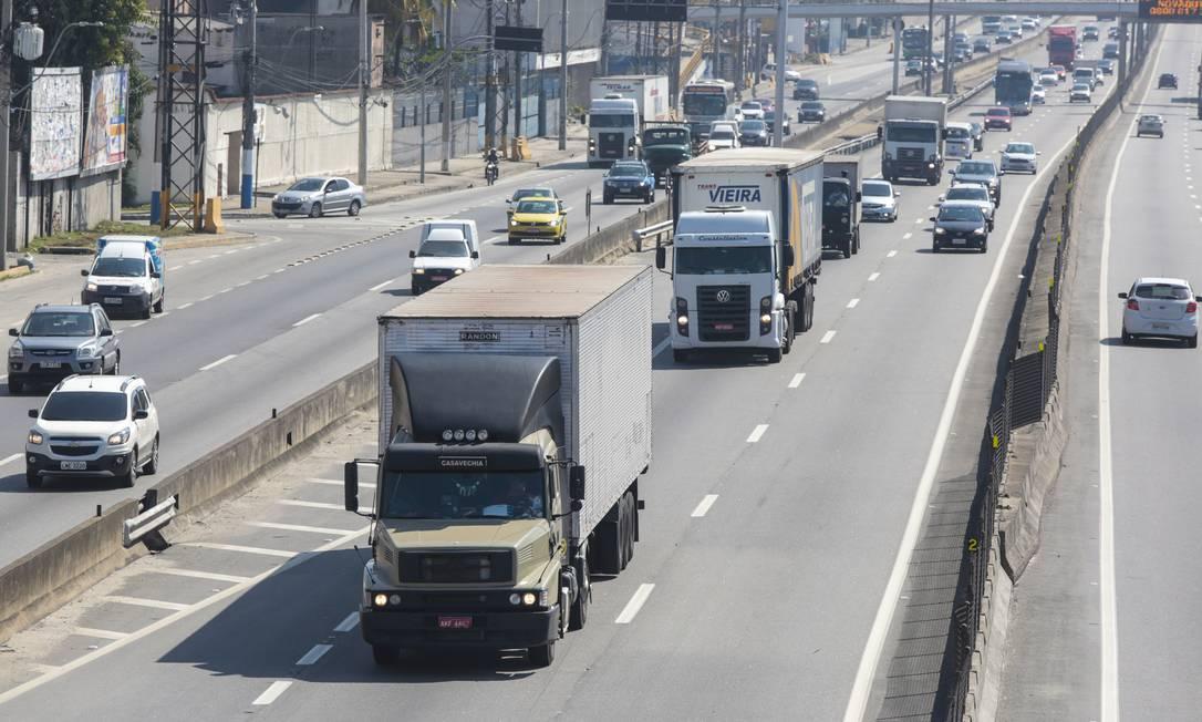 Após paralisação dos caminhoneiros, os preços de insumos dispararam Foto: Marcos Ramos / Agência O Globo