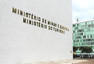 Facha do Ministério de Minas e Energia, no DF Foto: Divulgação