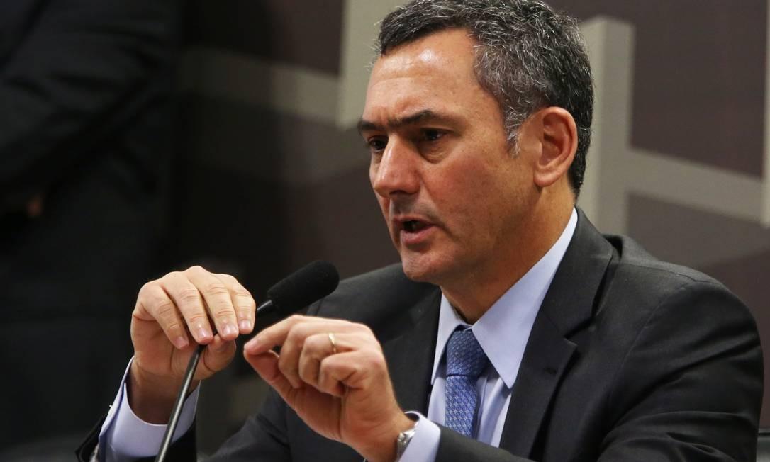 O ministro da Fazenda, Eduardo Guardia Foto: Givaldo Barbosa / Agência O Globo