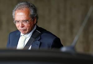Paulo Guedes, ministro da Economia no governo Bolsonaro Foto: ADRIANO MACHADO / REUTERS
