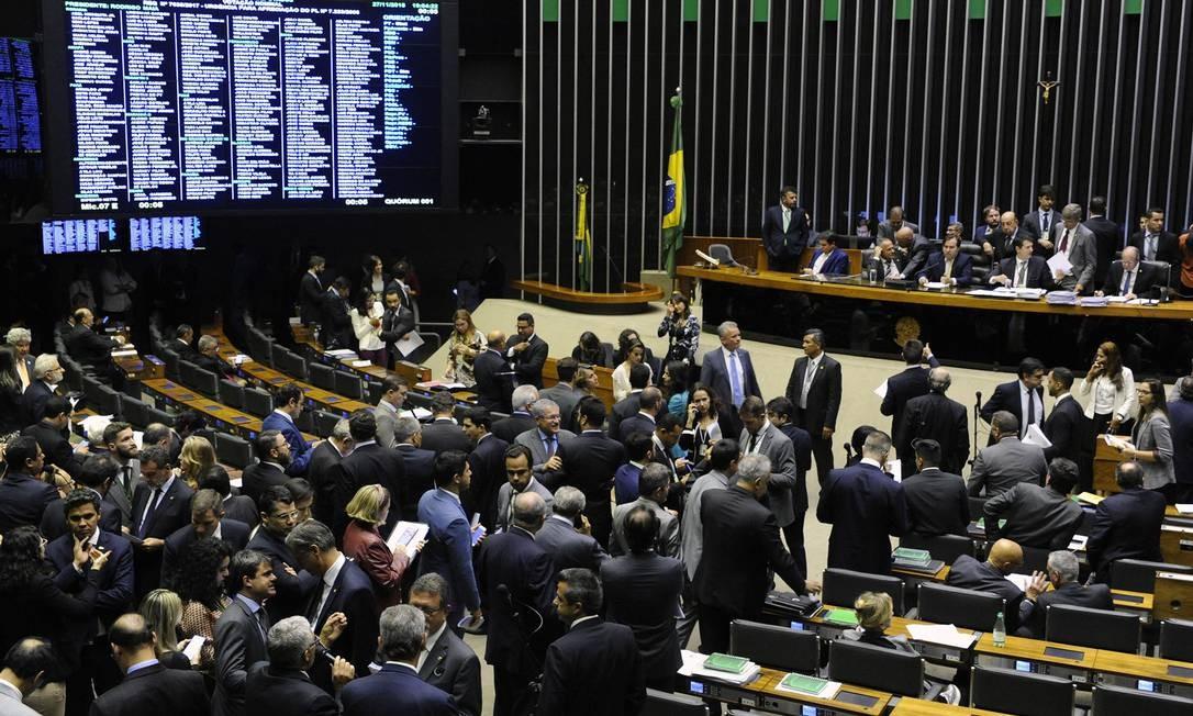 Câmara dos Deputados no DF Foto: LUIS MACEDO / Agência O Globo