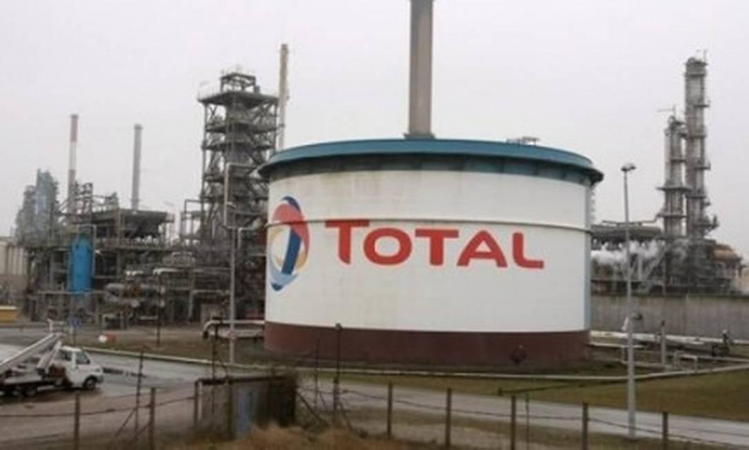 Petroleira Total Foto: Reprodução
