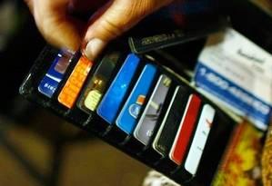 Novo passo na guerra pela captura por transações feitas com cartões Foto: Arquivo