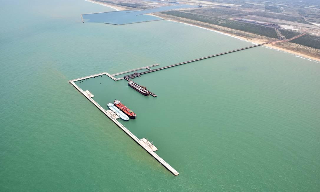 Porto de Açu terá heliponto Foto: Divulgação
