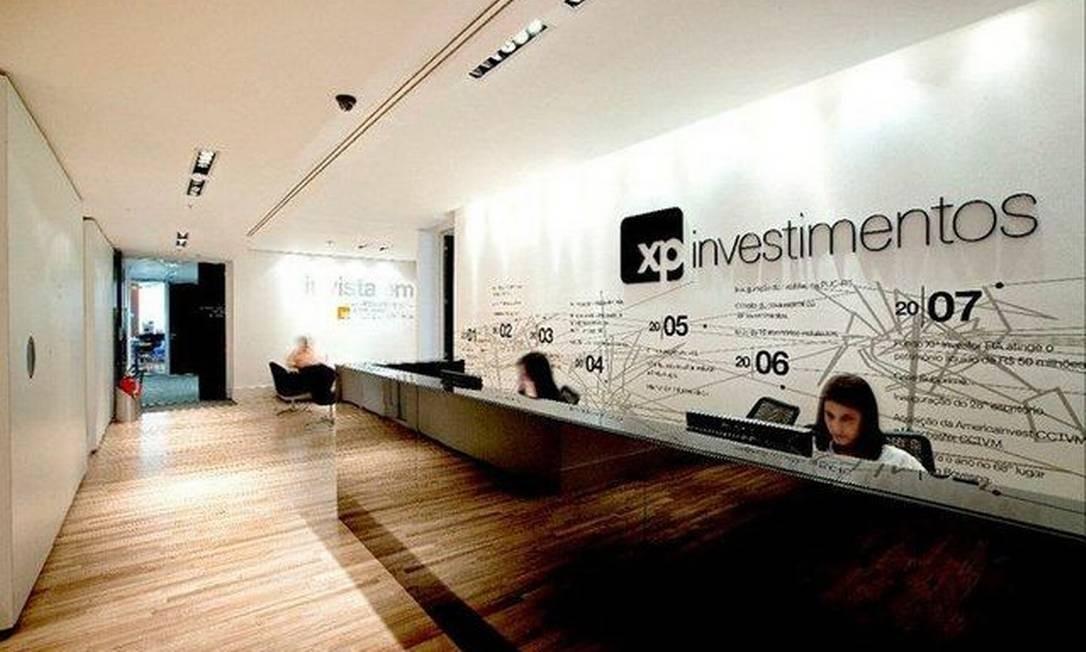 Escritório da XP Investimentos Foto: Divulgação