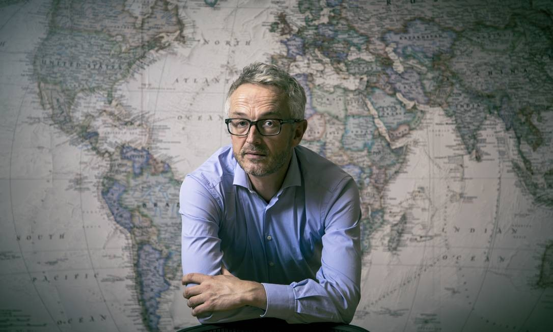 Bjorn Otto, vice-presidente global de sustentabilidade da Equinor Foto: Leo Martins / Agência O Globo