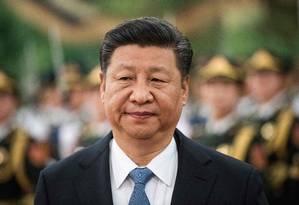 Presidente chinês, Xi Jinping Foto: FRED DUFOUR / AFP