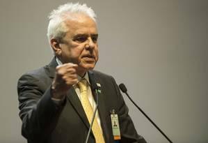 Cerimônia de posse do novo presidente da Petrobras, Roberto Castello Branco Foto: Guito Moreto / Agência O Globo