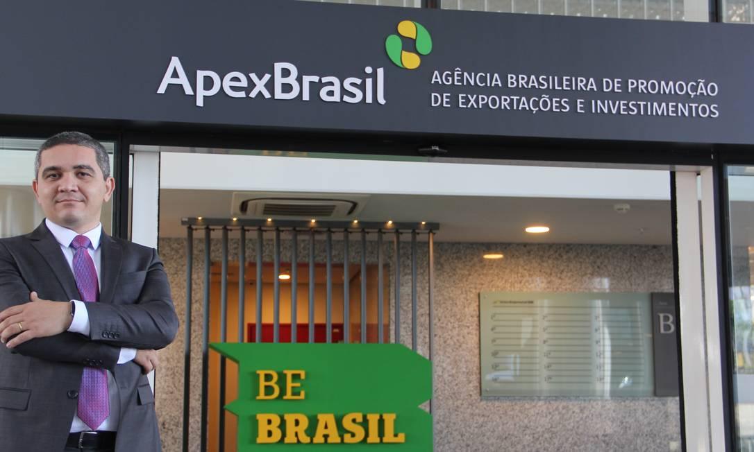 Alecxandro Carreiro ficou uma semana na frente da Apex Foto: Divulgaçao