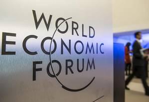Fórum Econômico Mundial Foto: Reprodução