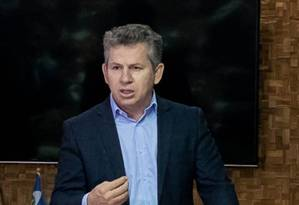 Governador do Mato Grosso, Mauro Mendes Foto: Reprodução