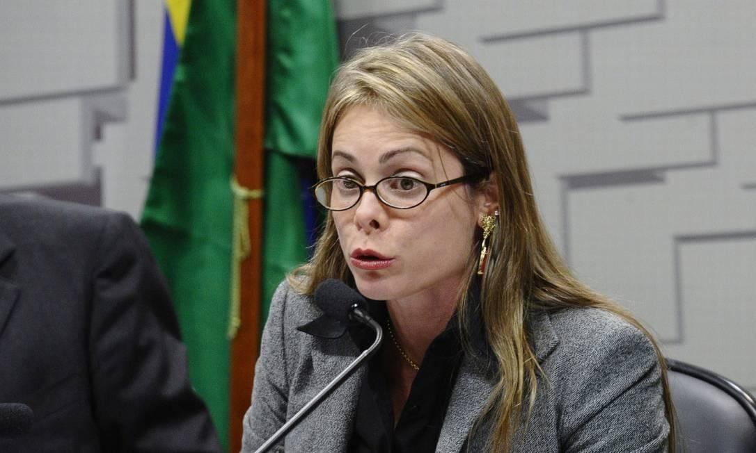 Secretária de Fazenda de Goiás, Cristiana Alkmin Foto: Reprodução