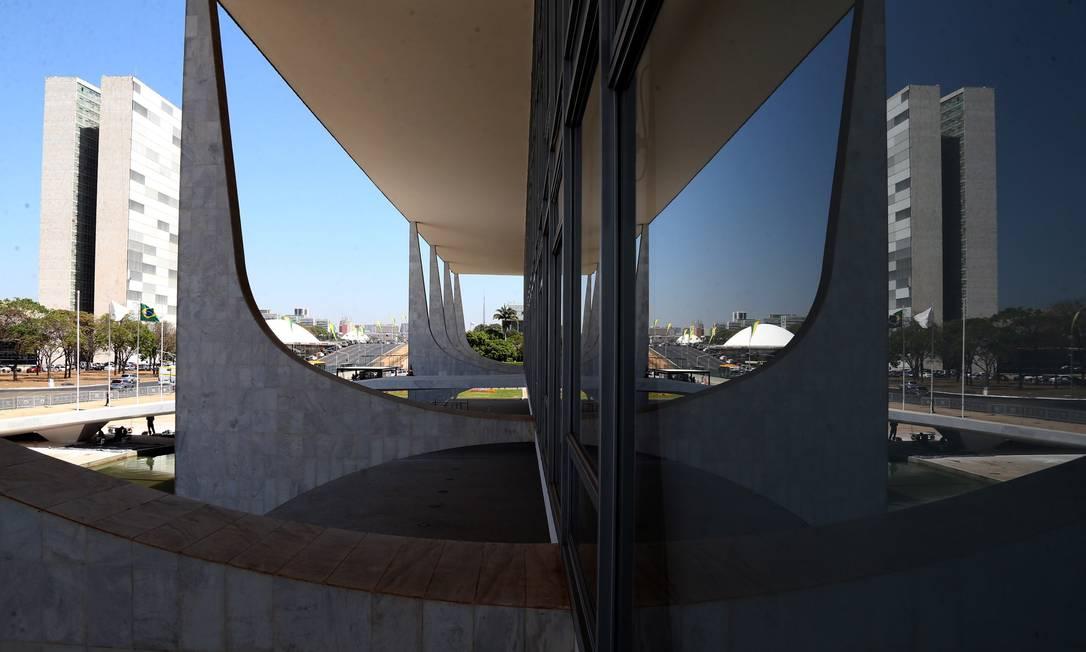 Vista do Palácio do Planalto Foto: Givaldo Barbosa / Agência O Globo