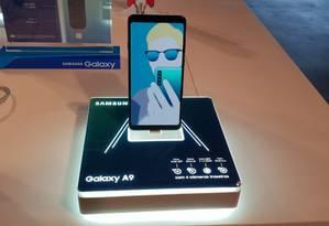 Samsung lança celular com quatro câmeras Foto: Divulgação