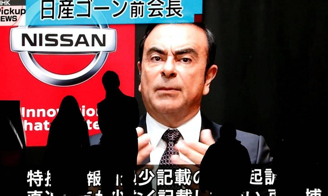 Ghosn pode renunciar à presidência da Renault, diz TV japonesa Foto: Reuters