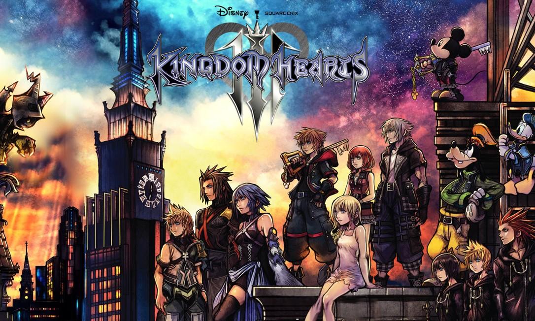 Kingdom Hearts 3 chega ao Japão na sexta-feira Foto: Reprodução