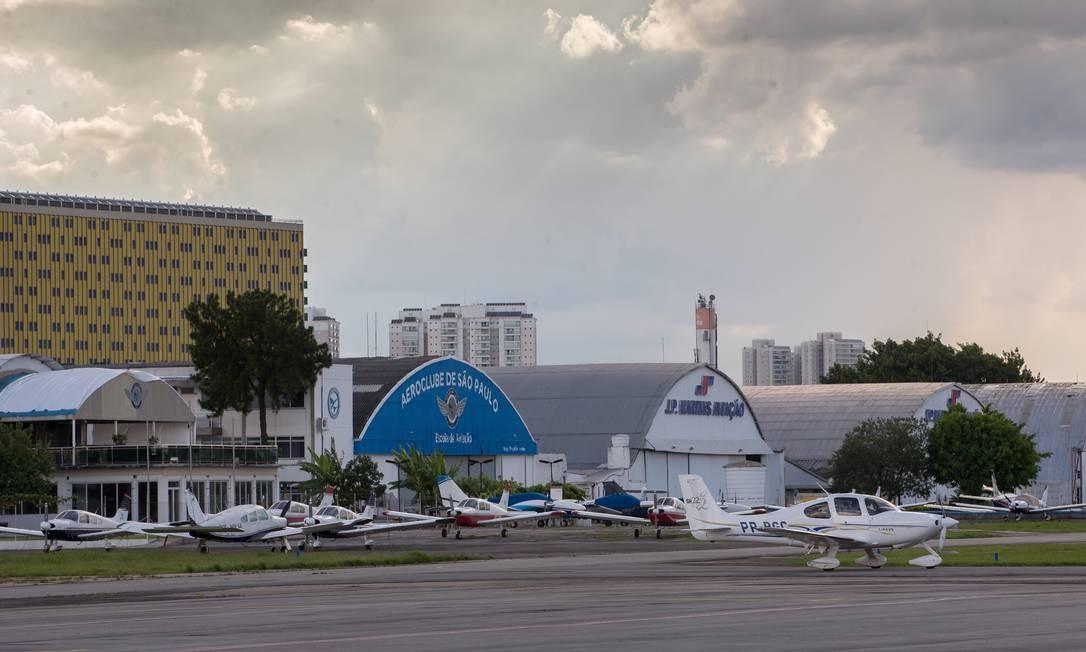 O governador de São Paulo, João Doria, quer a desativativação do aeroporto Campo de Marte Foto: Edilson Dantas / Agência O Globo