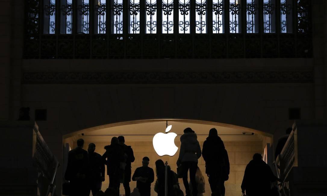 Apple anuncia queda nas vendas do iPhone no último trimestre de 2018 Foto: Drew Angerer / AFP
