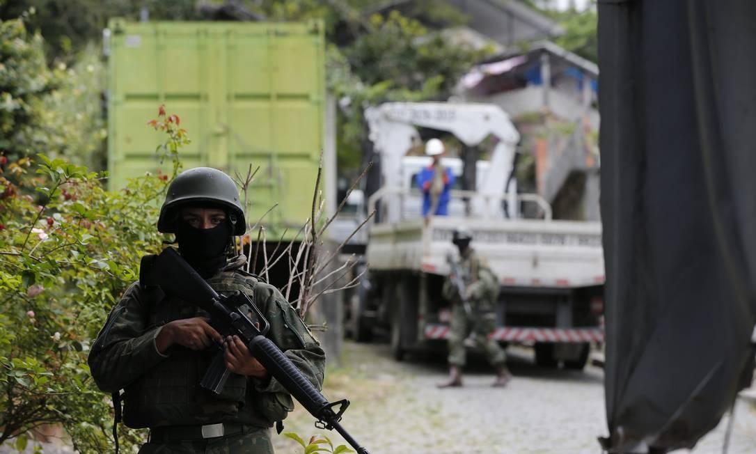 Governo negovia medidas para incluir militares na reforma da Previdência Foto: Pablo Jacob / Agência O Globo