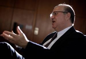 Ilan Goldfajn presidiu sua última reunião à frente do BC Foto: UESLEI MARCELINO / REUTERS