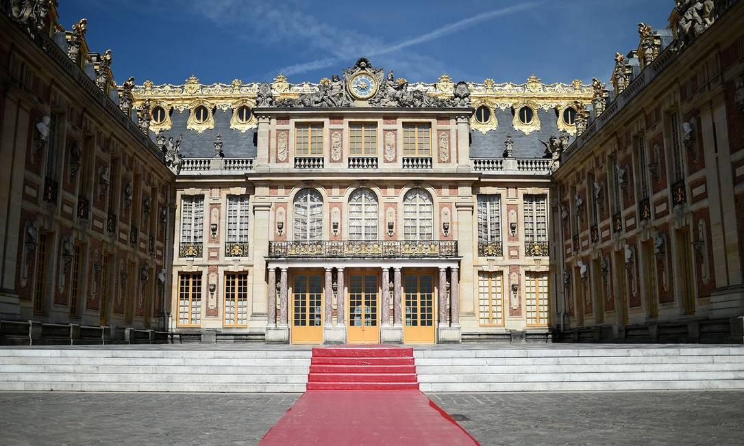 O Palácio de Versalhes, na França Foto: Stephane De Sakutin/AFP/Getty Images / Photographer: STEPHANE DE SAKUTI