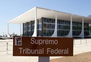 Fachada do Supremo Tribunal Federal, em Brasília Foto: Arquivo