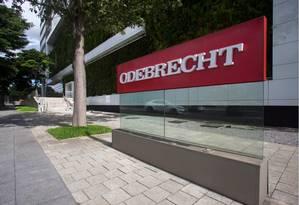 Sede da Odebrecht em São Paulo Foto: Arquivo