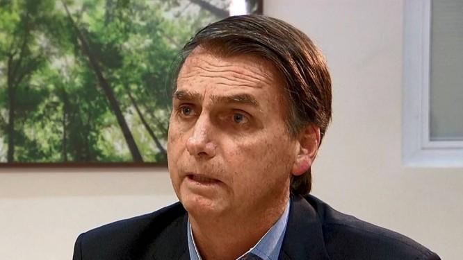 Entrevista com o presidente Jair Bolsonaro no Jornal da Record. Foto: Picasa / Reprodução de vídeo