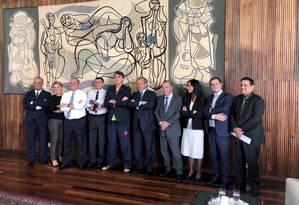 Presidente Jair Bolsonaro se reúne com equipe econômica para tratar da reforma da previdência Foto: Terceiro / Reprodução