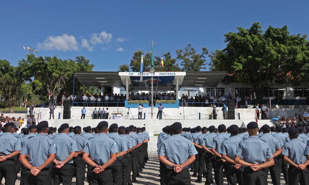 PMs: policiais da reserva poderão exercer atividades civis Foto: Marcelo Horn / Marcelo Horn/18-01-2013