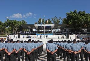 Formatura do curso de soldados da PM Foto: Marcelo Horn / Marcelo Horn/18-01-2013