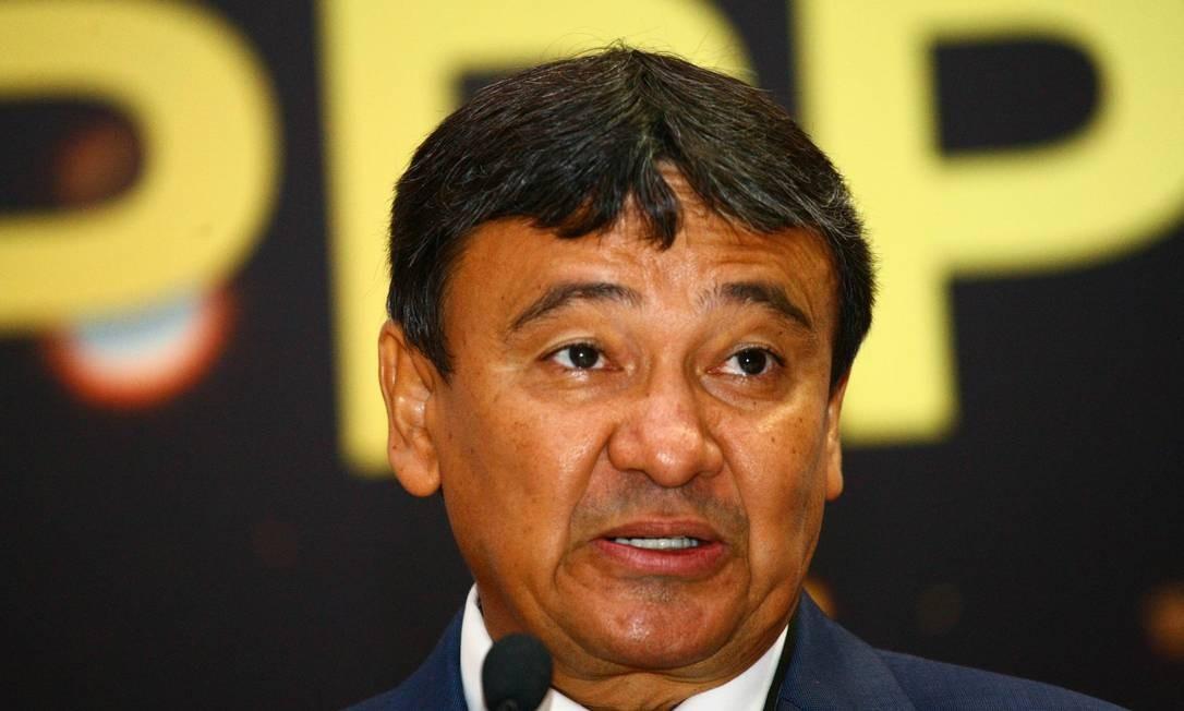 Governador do Piauí, Wellington Dias, após reunião com Paulo Guedes Foto: Aloisio Mauricio / Agência O Globo