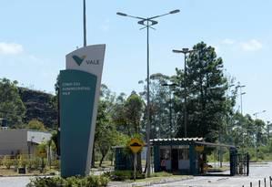 Entrada principal da Vale em Nova Lima, em Minas Gerais Foto: Washington Alves / Reuters