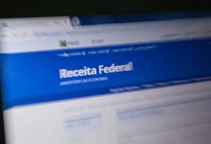 Imposto de Renda 2019 Foto: Brenno Carvalho / Agência O Globo
