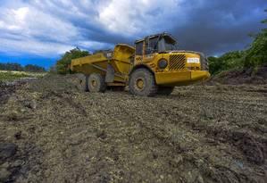 Governo quer autorizar mineração em terras indígenas Foto: Lucas Lacaz Ruiz / Agência O Globo