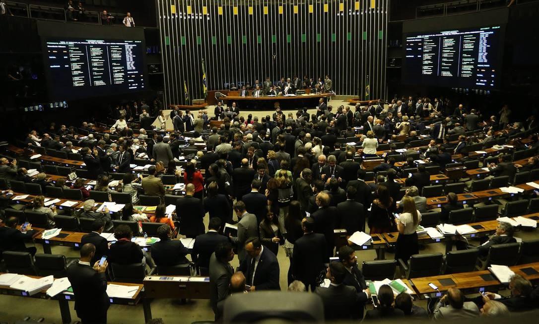 Com proposta de desvinculação do Orçamento, governo espera apoio do Congresso à reforma da Previdência. Foto: Ailton de Freitas / Agência O Globo/22-11-2017