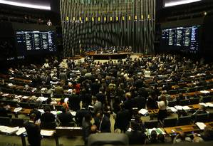 Plenário do Senado Foto: Ailton de Freitas / Agência O Globo/22-11-2017