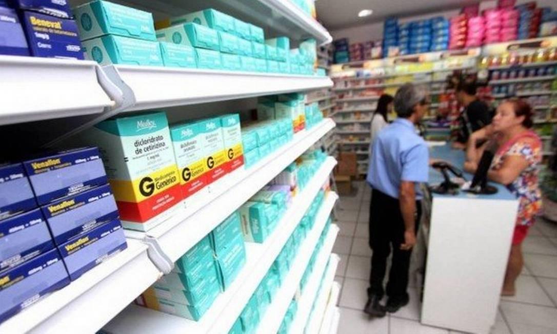 Medicamentos de uso contínuo tiveram reajuste em abril. Percentual é quase o dobro do reajuste do ano passado, que foi de 5,21% Foto: Agência O Globo