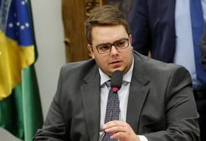 Presidente da CCJ da Câmara, Felipe Francischini Foto: ADRIANO MACHADO / REUTERS