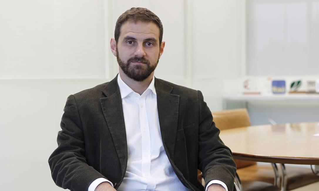 Caio Megale, secretário de Desenvolvimento da Indústria, Comércio, Serviços e Inovação Foto: Michel Filho / Agência O Globo