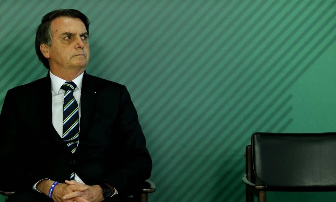 Presidente Jair Bolsonaro tenta se reaproximar da base evangélica Foto: Jorge William / Agência O Globo