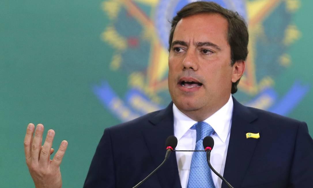 Presidente da Caixa, Pedro Guimarães, em foto de 07 de janeiro Foto: Jorge William / Agência O Globo