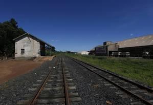 Setor de ferrovias deve ser o primeiro a captar financiamento no mercado do selo verde Foto: Michel Filho / Agência O Globo