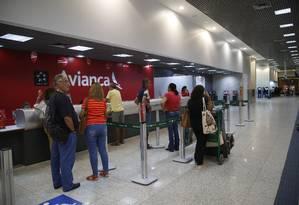 Cancelamentos de voos da Avianca Foto: Fábio Guimarães / Agência O Globo