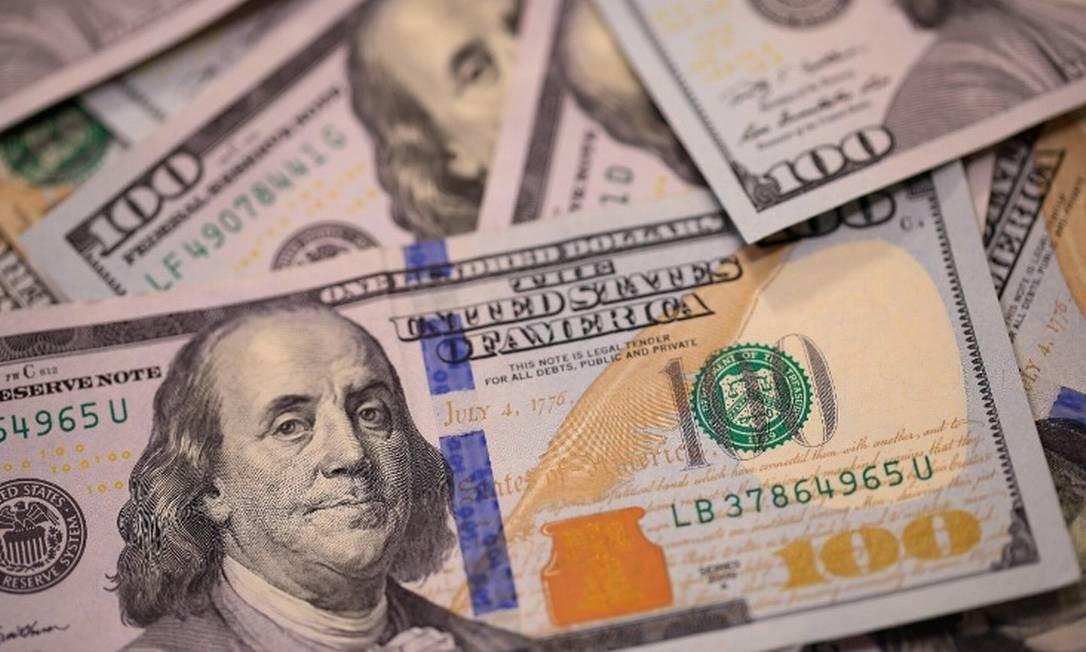 Cotação do dólar em alta Foto: Agência O Globo