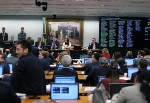 Sessão da CCJ da Câmara dos Deputados Foto: Jorge William / Agência O Globo
