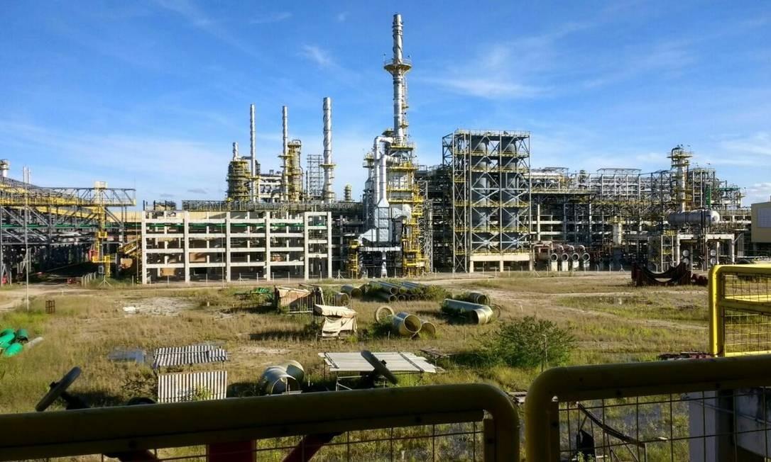 Complexo Petroquímico - Comperj Foto: Reprodução