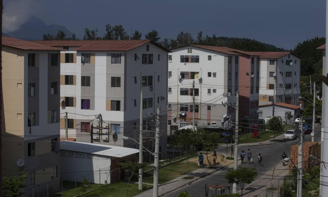 Conjunto habitacional do programa Minha Casa, Minha Vida, no Rio Foto: Alexandre Cassiano / Agência O Globo